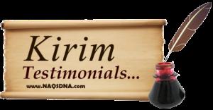 send testimonials